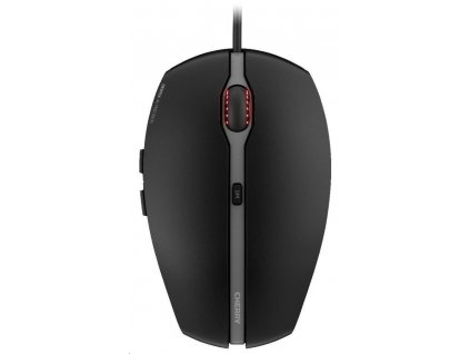 CHERRY myš Gentix 4K, drátová, USB, 3600 dpi, černá