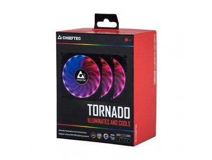 CHIEFTEC RGB větrák TORNADO CF-3012-RGB
