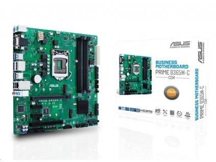 ASUS MB Sc LGA1151 PRIME B365M-C/CSM (SW + PUR RMA), Intel B365, 4xDDR4, 2xDP, 1xHDMI, 1xVGA, mATX