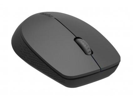 RAPOO myš M100 Silent Comfortable Silent Multi-Mode Mouse, Dark Grey