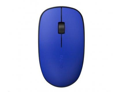 RAPOO myš M200 Silent Multi-Mode Wireless Mouse, Blue