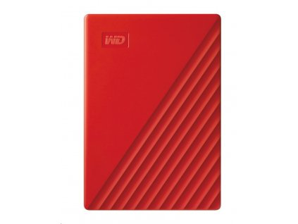 """WD My Passport portable 4TB Ext. 2.5"""" USB3.0 Red"""