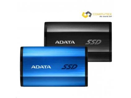 ADATA External SSD 1TB SE800 USB 3.2 Gen2 type C černá