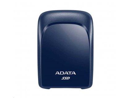 ADATA External SSD 480GB SC680 USB 3.2 Gen2 type C modrá