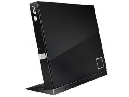 ASUS External Slim BD Writer SBW-06D2X-U BLACK, USB 3.1, Blu-ray