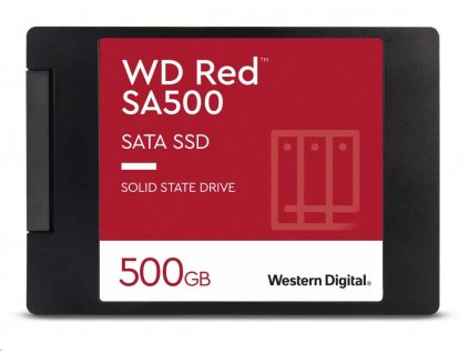 "WD RED SSD 3D NAND WDS500G1R0A 500GB SATA/600, (R:560, W:530MB/s), 2.5"""
