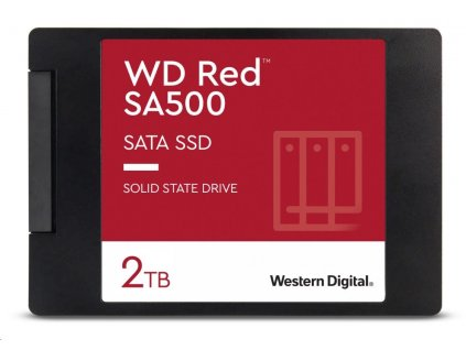 "WD RED SSD 3D NAND WDS200T1R0A 2TB SATA/600, (R:560, W:530MB/s), 2.5"""