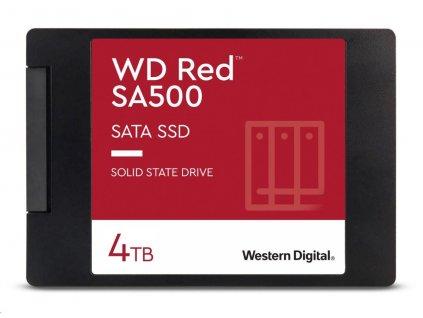 "WD RED SSD 3D NAND WDS400T1R0A 4TB SATA/600, (R:560, W:530MB/s), 2.5"""