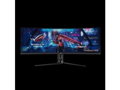 """ASUS LCD 43"""" XG43VQ ROG STRIX 3840x1200 Curved Gaming VA 120Hz DCI-P3 90% DP HDMI USB3.0 FreeSync 2 HDR REPRO"""