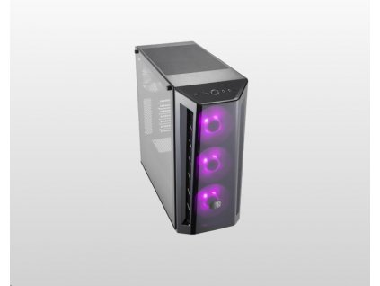 Cooler Master case MasterBox MB520 RGB, ATX, Mid Tower, černá, bez zdroje
