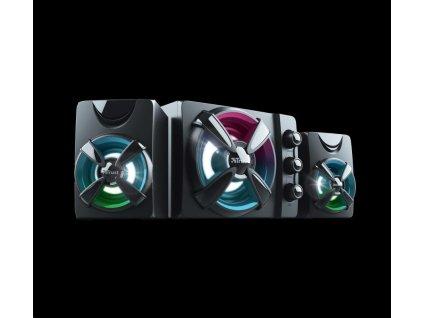 TRUST herní Reproduktory ZIVA RGB 2.1 GAMING SPEAKER SET