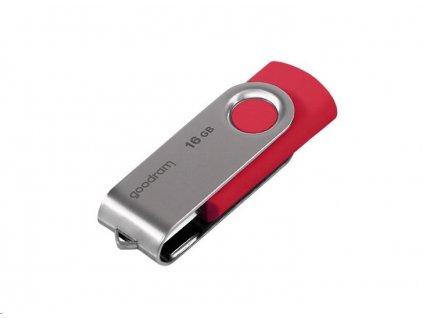 GOODRAM Flash Disk 16GB UTS3, USB 3.0, červená