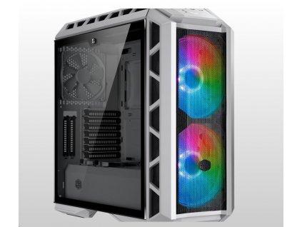 Cooler Master case MasterCase H500P Mesh White ARGB, E-ATX, Mid Tower, bílá, bez zdroje