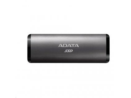 ADATA External SSD 1TB SE760 USB 3.2 Gen2 type C Titanová šeď