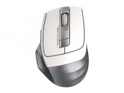A4tech FG35, FSTYLER bezdrátová myš, stříbrná