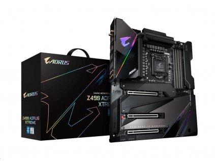 GIGABYTE MB Sc LGA1200 Z490 AORUS XTREME 1.0, Intel Z490, 4xDDR4, VGA, WI-FI, E-ATX