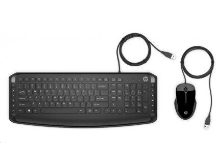 HP Wired Keyboard & Mouse 200 CZ/SK - KLÁVESNICE a MYŠ