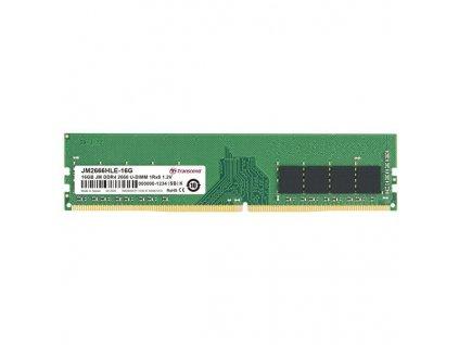 DIMM DDR4 16GB 2666MHz TRANSCEND 1Rx8 2Gx8 CL19 1.2V