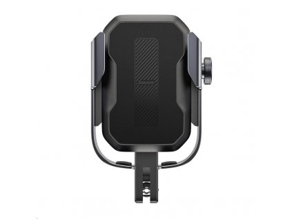Baseus Armor univerzální držák na mobilní telefon na kolo / motocykl, černá
