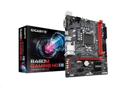 GIGABYTE MB Sc LGA1200 B460M GAMING HD, Intel B460, 2xDDR4, VGA, micro-ATX
