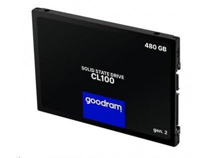 """GOODRAM SSD CL100 Gen.3 480GB SATA III 7mm, 2,5"""""""