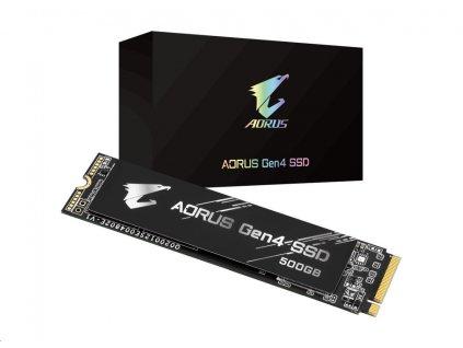 GIGABYTE SSD AORUS Gen4 500GB M.2
