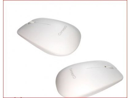 ACER Bluetooth Mouse White - BT 5.1, 1200 dpi, 102x61x32 mm, 10m dosah, 1xAA battery, Win/Chrome/Mac, Retail Pack