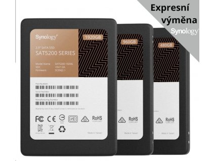 "Synology SAT5200 SSD 2,5"" 3840 GB"
