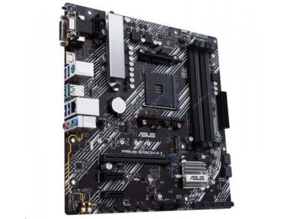 ASUS MB Sc AM4 PRIME B450M-A II, AMD B450, 4xDDR4, 1xHDMI, 1xDVI, 1xVGA, mATX