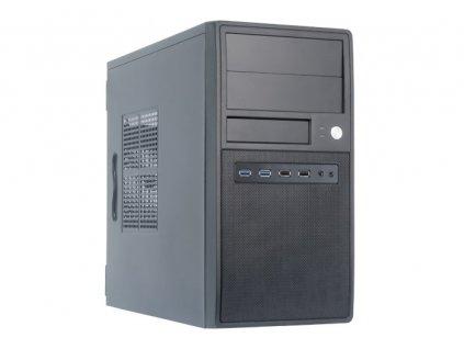 CHIEFTEC skříň Mesh Series/mATX, CT-04B-OP, Black, USB 3.0, bez zdroje