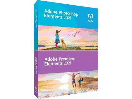 Photoshop Elem/Premiere Elem 2021 WIN CZ FULL BOX