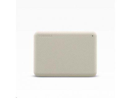 "TOSHIBA HDD CANVIO ADVANCE (NEW) 1TB, 2,5"", USB 3.2 Gen 1, bílá / white"