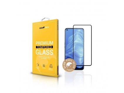 RhinoTech 2 Tvrzené ochranné 2.5D sklo pro Realme 7 (Full Glue) Black