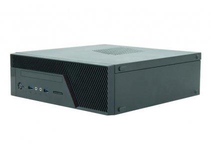 CHIEFTEC skříň Uni Series/mini ITX, BU-12B, Black, zdroj GPF-300P (300W 80+ Bronze)