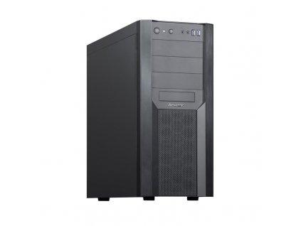 CHIEFTEC skříň Miditower CW-01B-OP Black, ATX, 2x USB 3.0 / 3,1 Gen 1