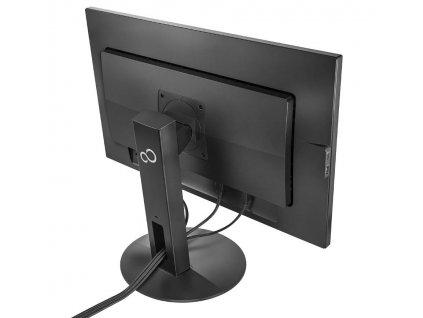 """FUJITSU LCD B27-9 TS QHD 27"""" matný, 2560x1440, 350cd, 5ms, DP HDMI DVI, repro, USB + USB-C, pivot, černý"""