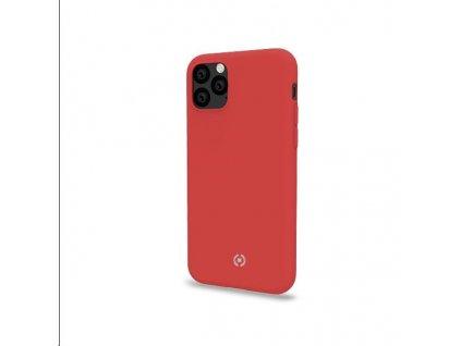 Celly silikonový zadní kryt Feeling pro iPhone 11, červená