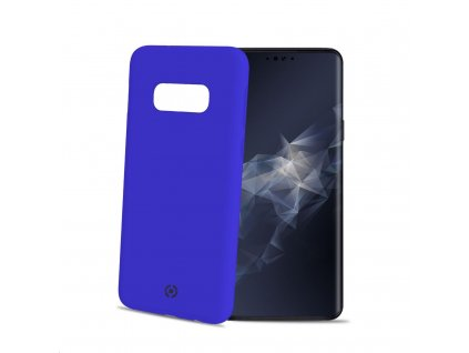 Celly silikonový zadní kryt Feeling pro Samsung Galaxy S10e, modrá