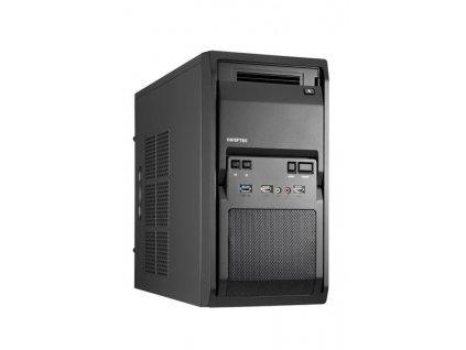 CHIEFTEC skříň Libra Series/Minitower, 350W, LT-01B-350S8, Black, USB 3.0