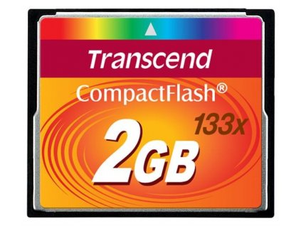 TRANSCEND Compact Flash 2GB (133x)