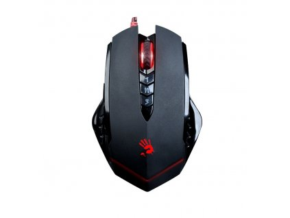 A4tech BLOODY V8 herní myš, až 3200DPI, V-Track technologie, 160KB paměť, USB, CORE 3, kovové podložky