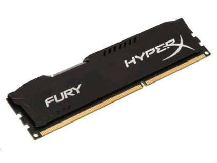 DIMM DDR3 4GB 1600MHz CL10 KINGSTON HyperX FURY Black