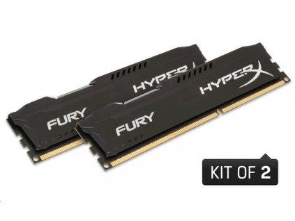 DIMM DDR3 8GB 1866MHz CL10 (Kit of 2) KINGSTON HyperX FURY Black