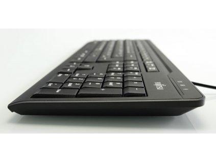 FUJITSU Klávesnice KB410 USB CZ SK - černá