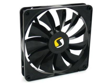 Rozměry (mm): 140x140x25 Rychlost otáčení ventilátoru: 1000 ot/m. +/-10% Hlučnost(dB/A): ~18,7 Průtok vzduchu: ~60,