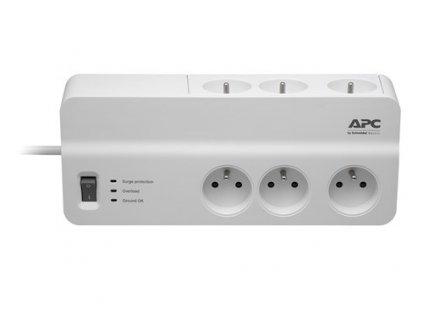 APC Essential SurgeArrest 6 outlets 230V France, 2m