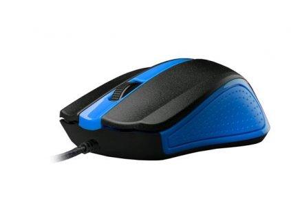 C-TECH myš WM-01, modrá, USB