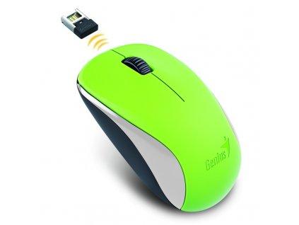 GENIUS myš NX-7000/ 1200 dpi/ bezdrátová/ zelená