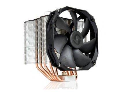 Chladič CPU se pěticí heatpipe. Je vybaven 140 mm ventilátorem s PWM regulací. K připojení slouží 4-pin PWM konektor.