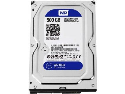WD BLUE WD5000AZRZ 500GB SATA/600 64MB cache 5400 ot.